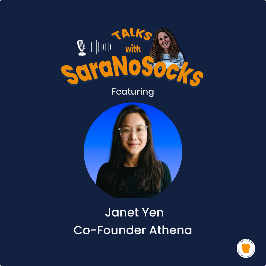 Ep 82: Interview with Janet Yen, Co-Founder Athena