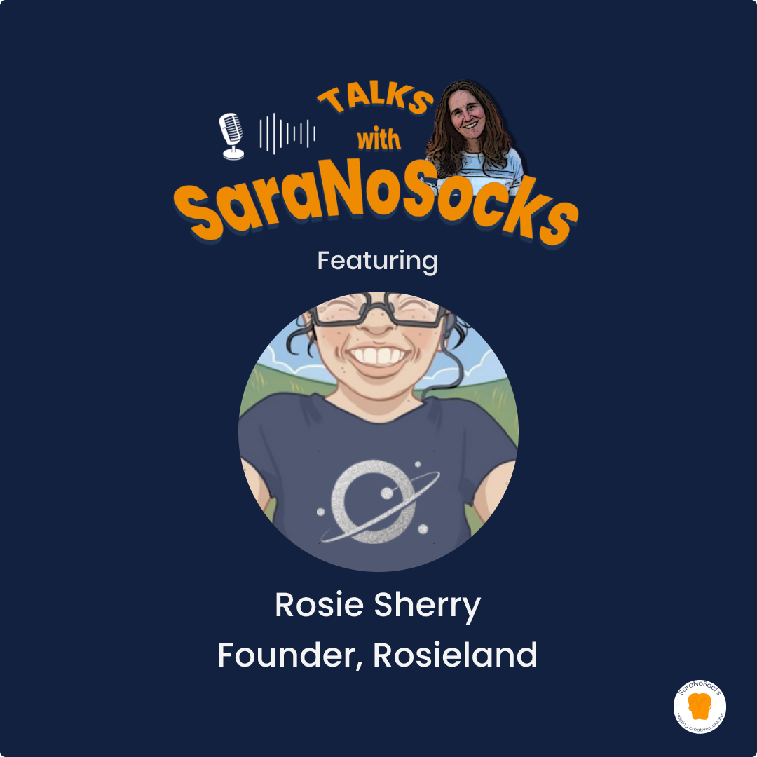 Ep 86: Interview with Rosie Sherry, Founder Rosieland