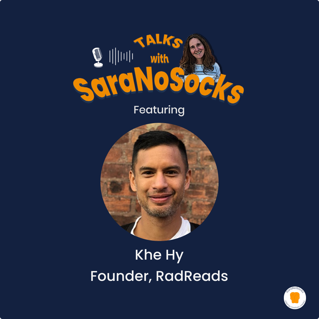 Ep 88: Interview with Khe Hy, Founder RadReads