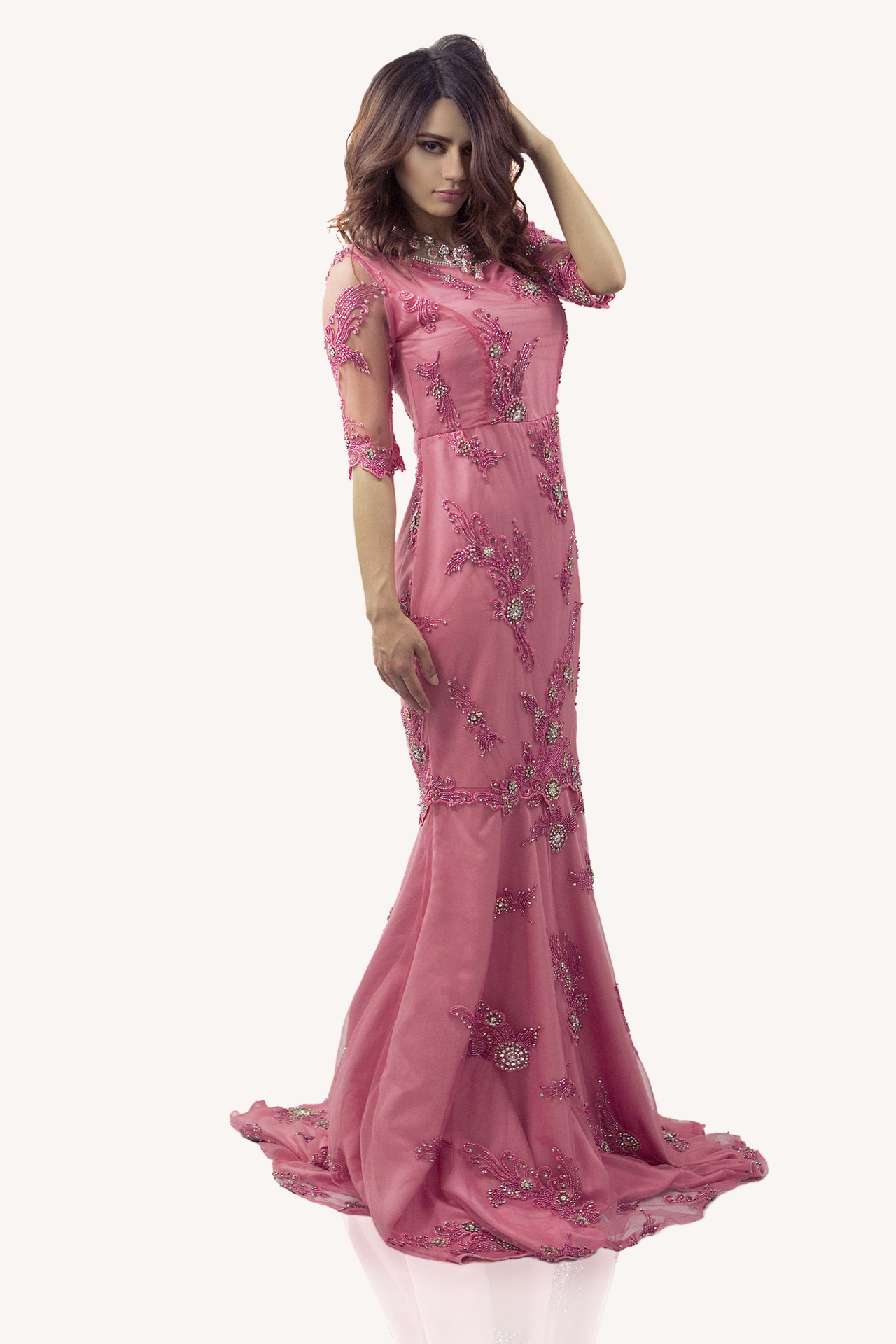Roze galajurk