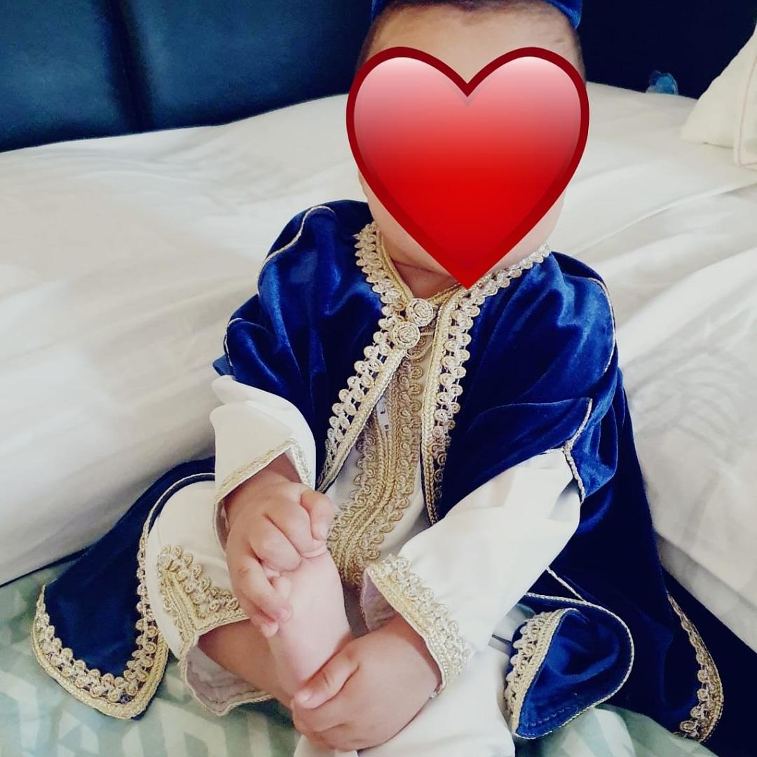 blauwe baby jabador