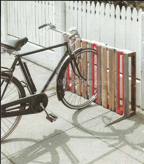 Bike Racks: 16 Ways of Building Your Own Pallet Bike Rack | Pallet ...