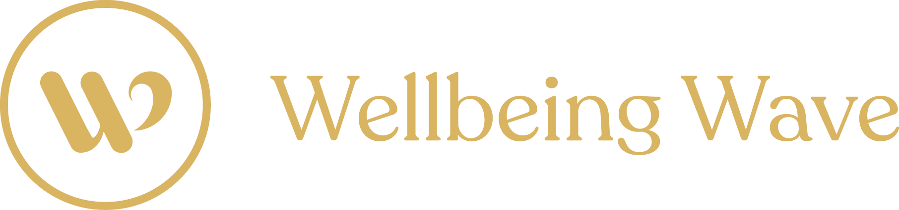 Wellbeing wave footer logo
