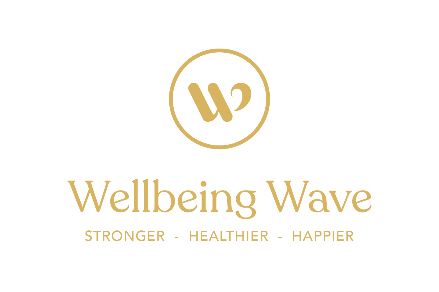 Wellbeing wave logo