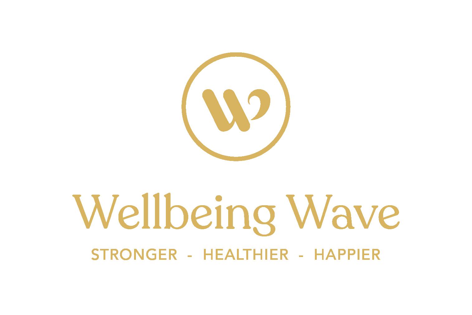 Wellbeing wave logo