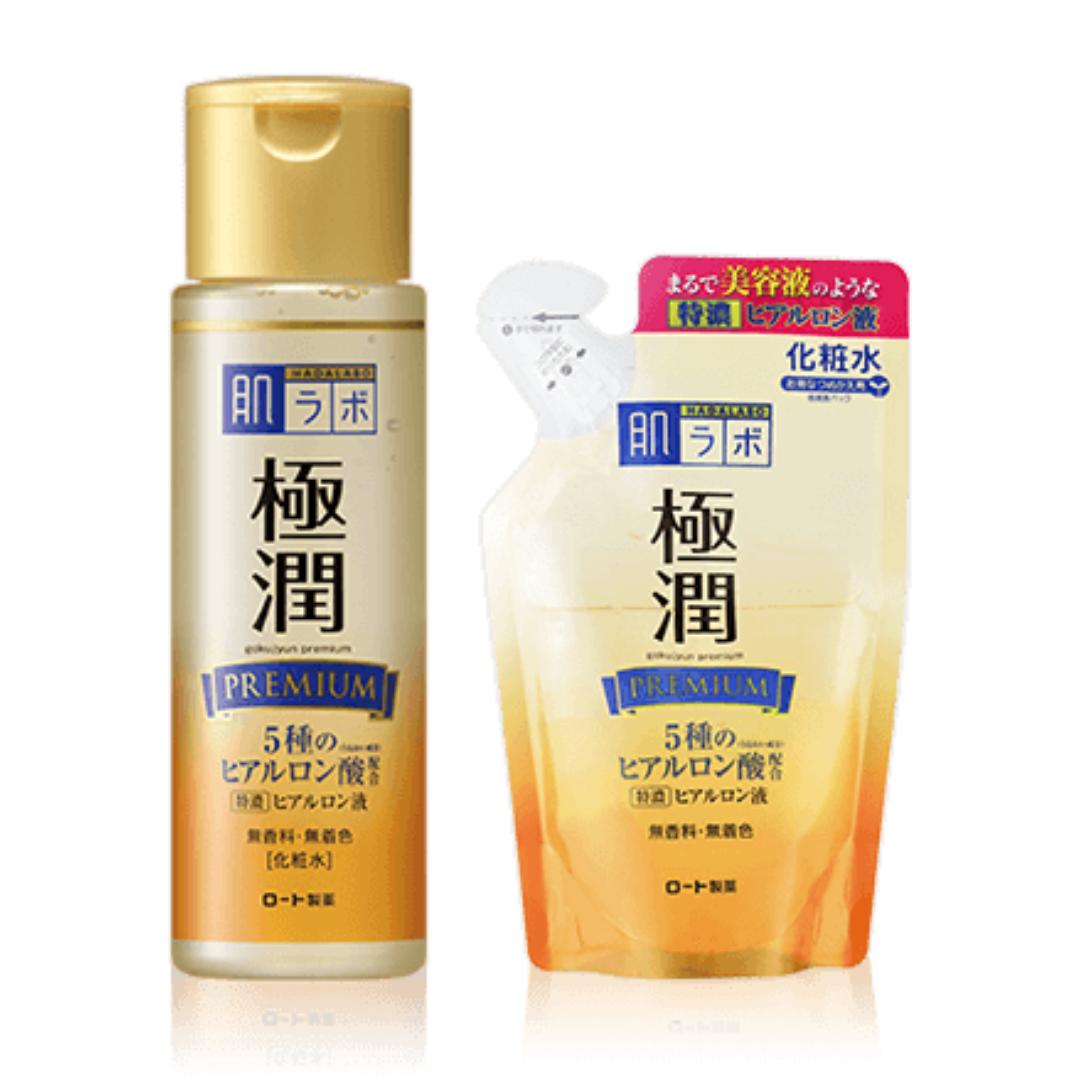 Hada Labo Gokujun premium hyaluronic lotion