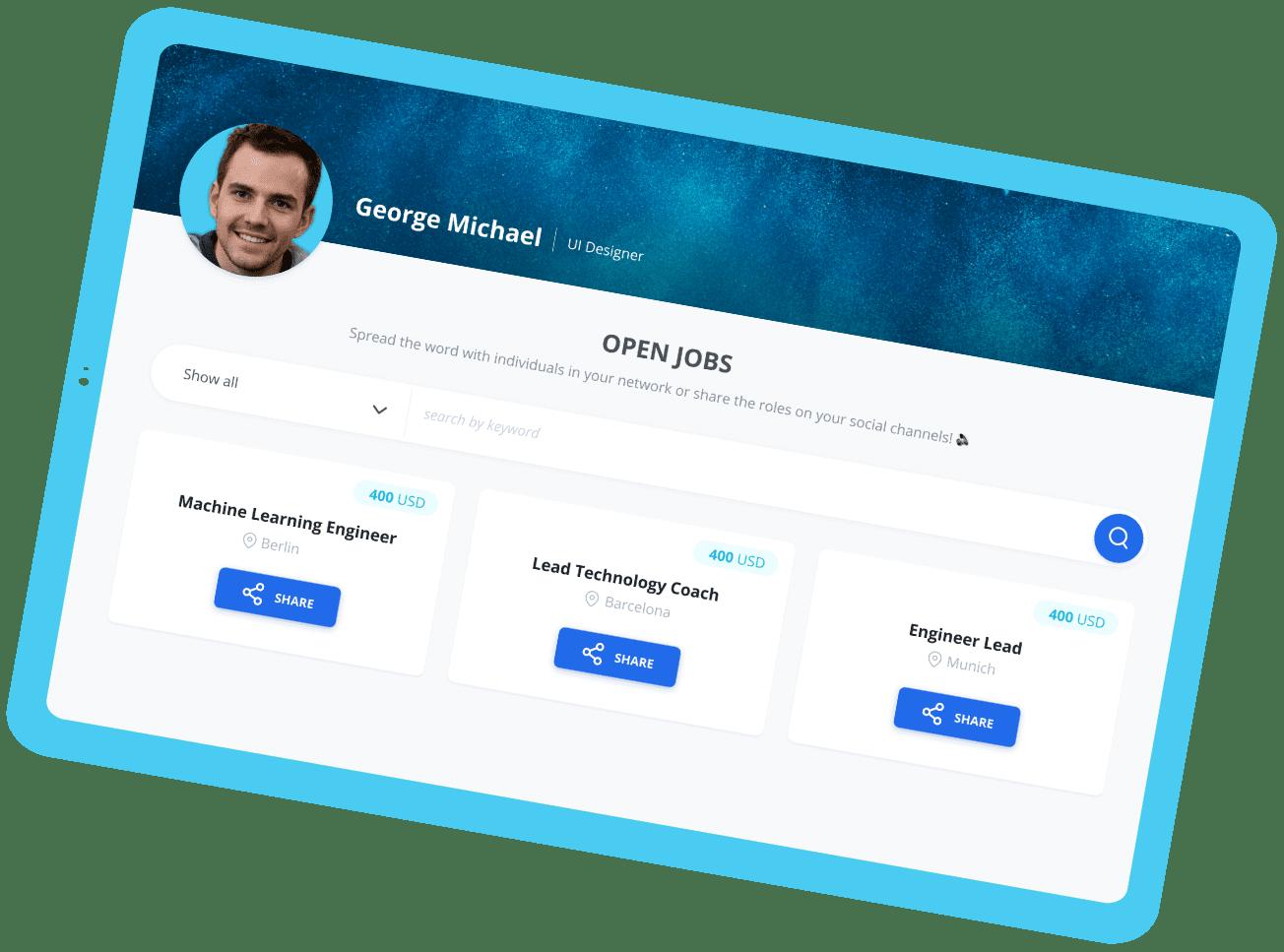 Intrro Open Jobs Screenshot