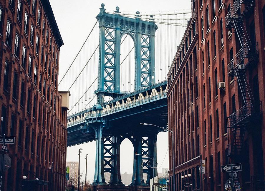 Downtown New York city.