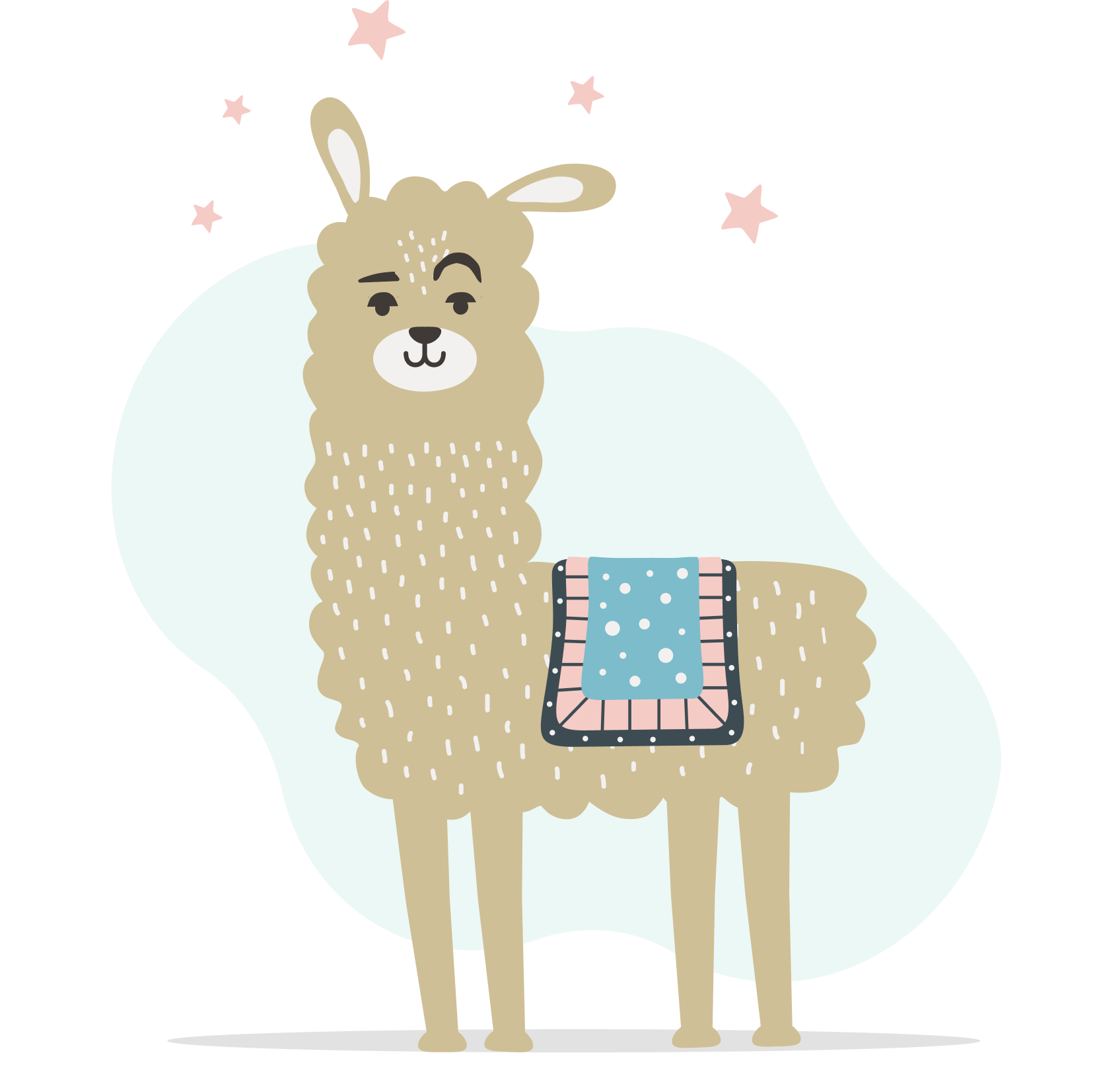 Winking Llama