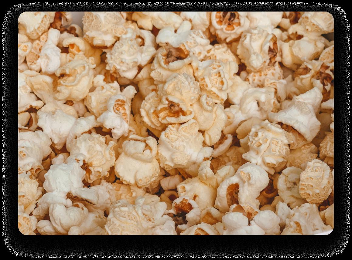 Popcorn at movie theater