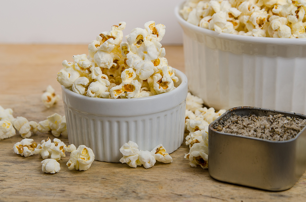 Popcorn Made in Small Batches