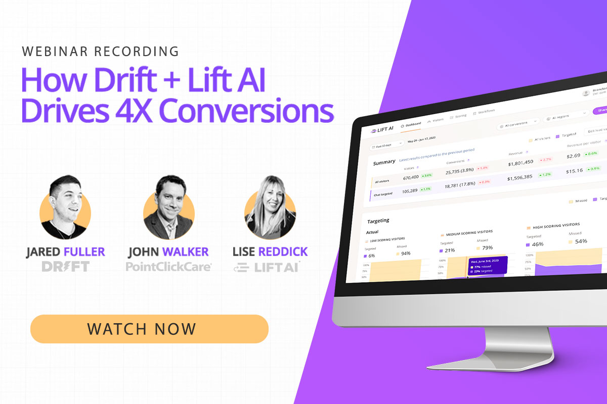 Webinar: How to 4x Conversions with Chat and AI