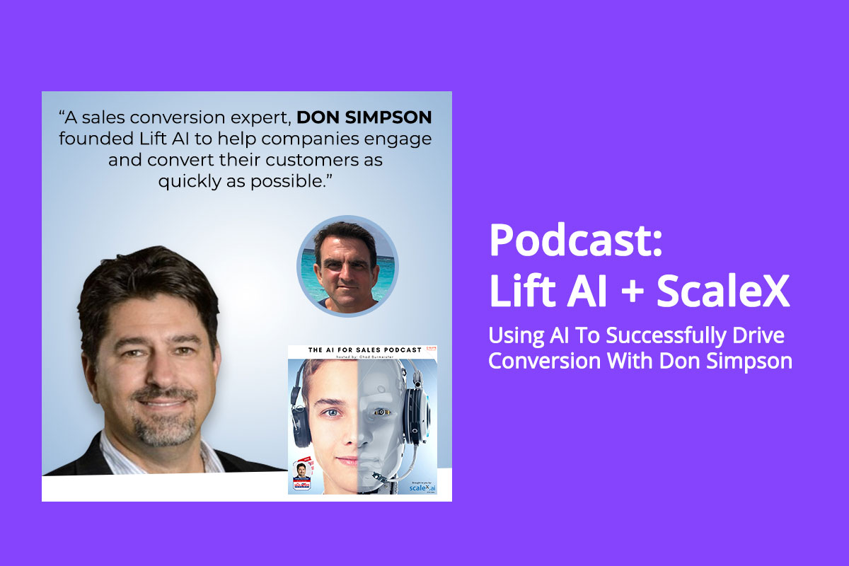 Podcast - Using AI To Successfully Drive Conversions With Don Simpson