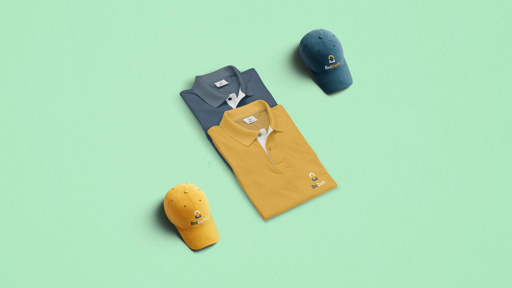 BniDark t-shirt and hat