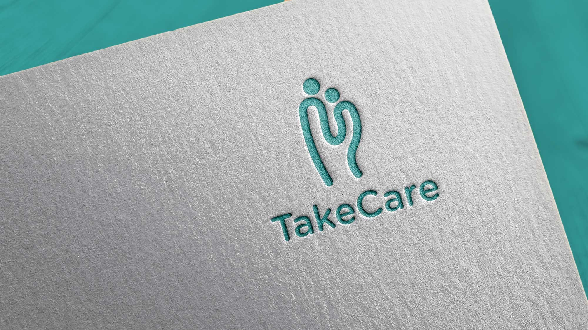 TakeCare logo on paper