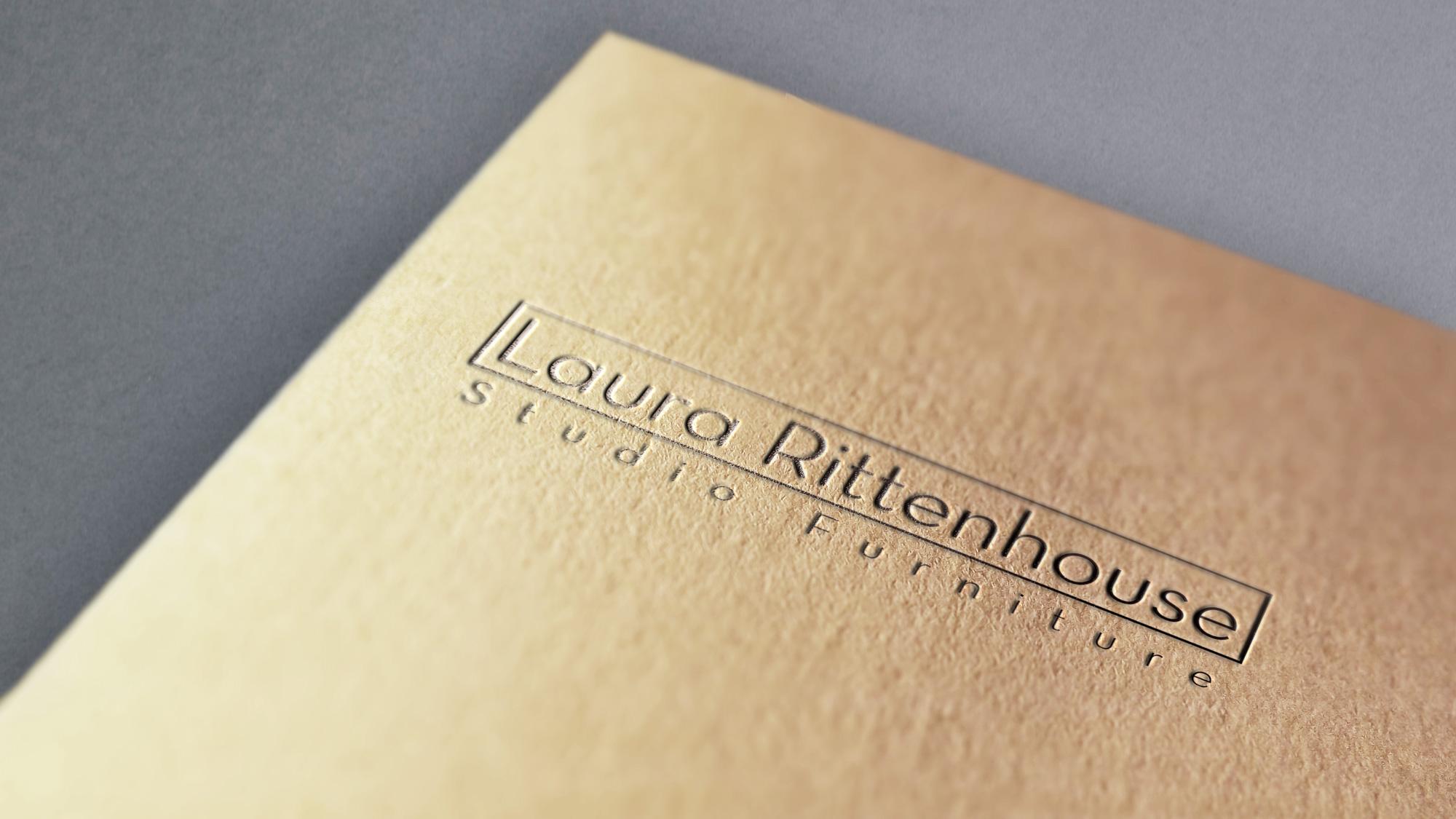 Laura Rittenhouse logo on paper