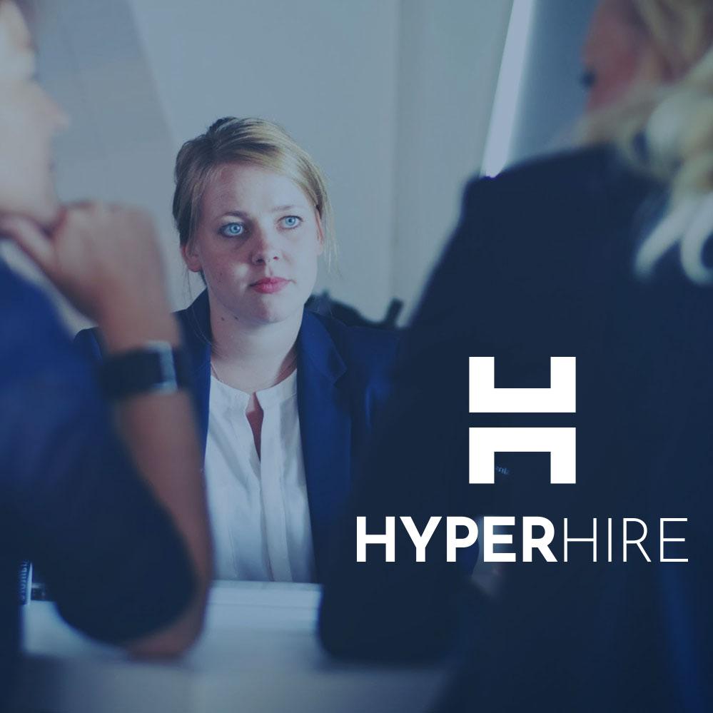 HyperHire homepage thumbnail