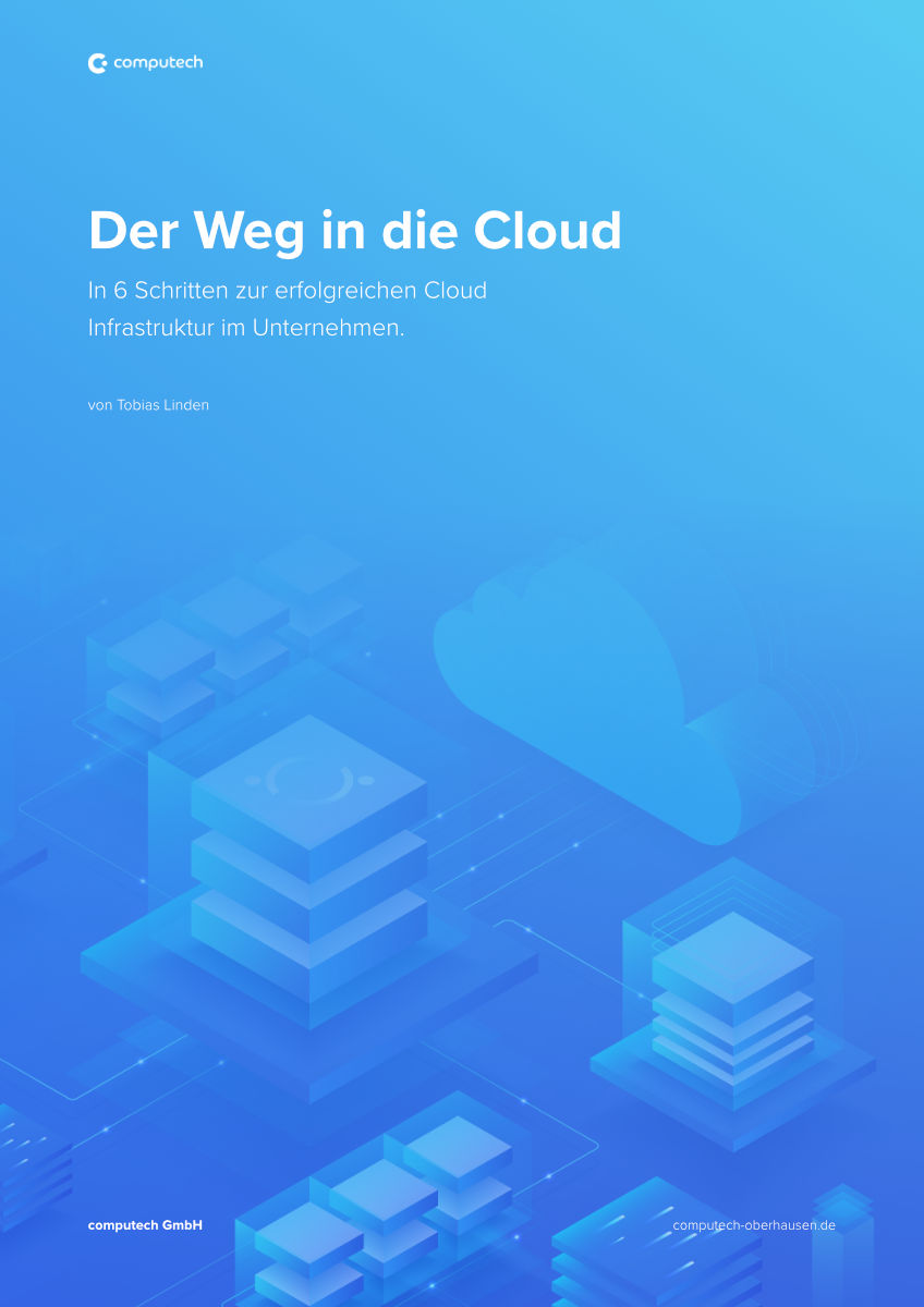 "EBook Leitfaden Cover zu ""Der Weg in die Cloud"""