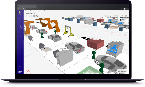 Innovation – Car factory planning web app with 3D view