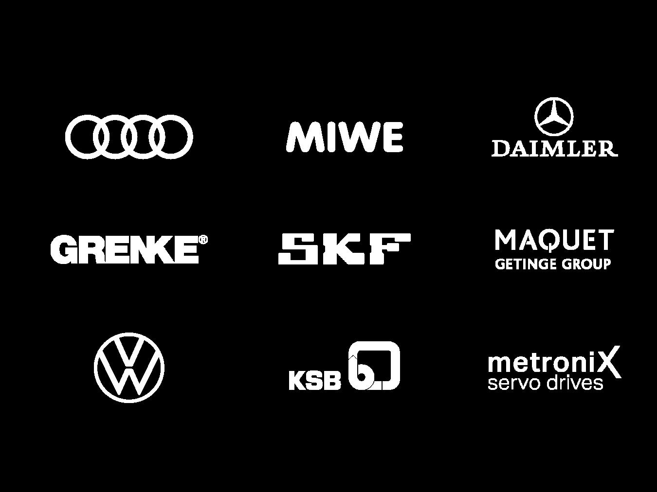 Client first – client logos