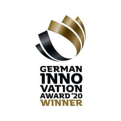 Award logo – German Innovation Award