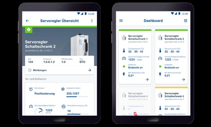SABO – Metronix Servo Drives screenshot