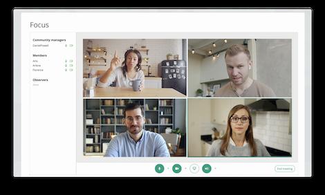 Virtual Focus Group screenshot
