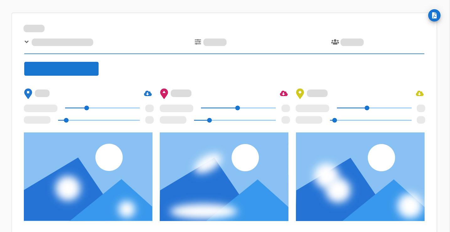 Custom Image Visual Research HeatMap