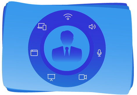 All Focus functionalities surrounding a professional