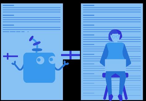 Manual transcription overtaking A.I. transcription