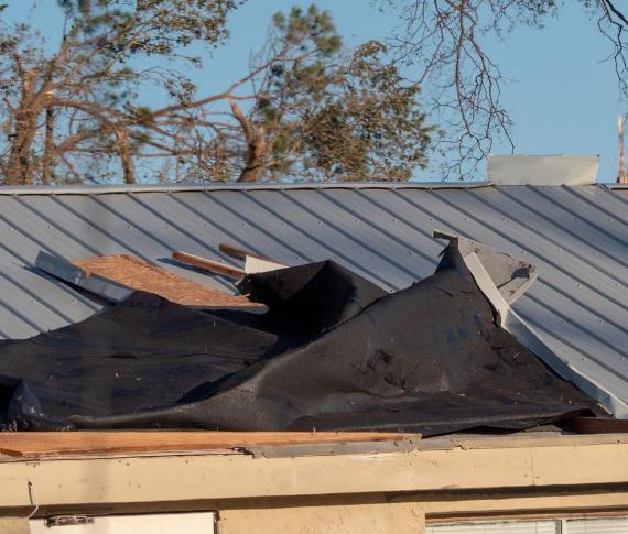 Roof Damage Storm