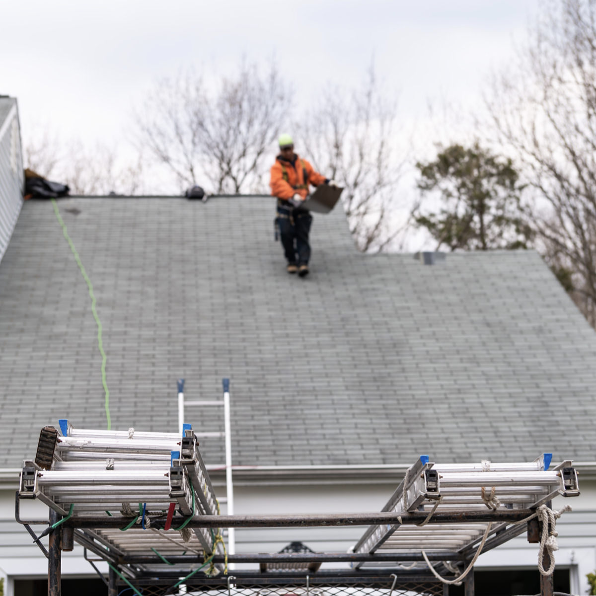 Roof Inspection in Houston
