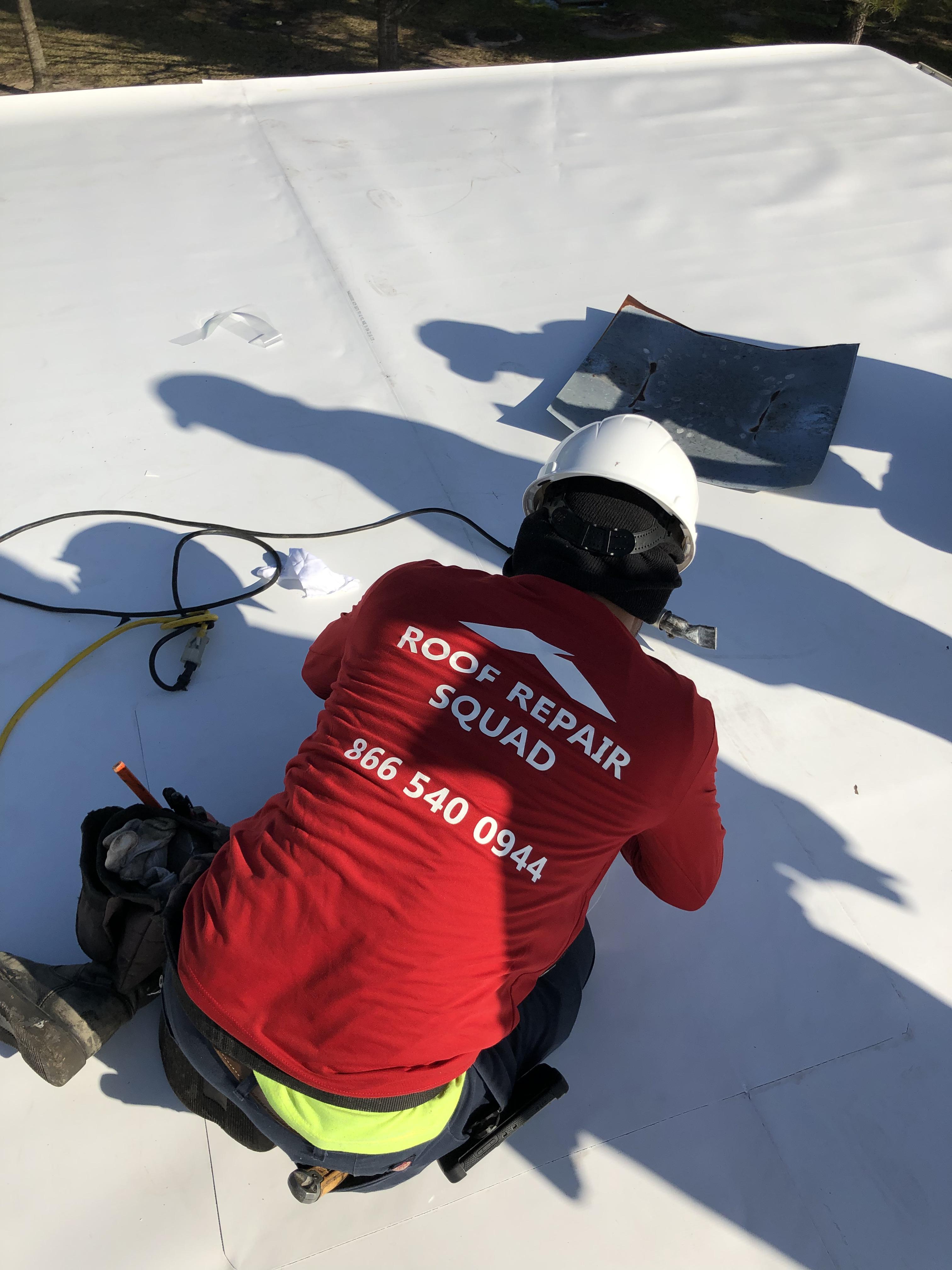 Roof Repair Squad Inspection