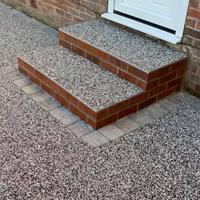 resin bonded steps exterior