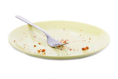 empty plate 1