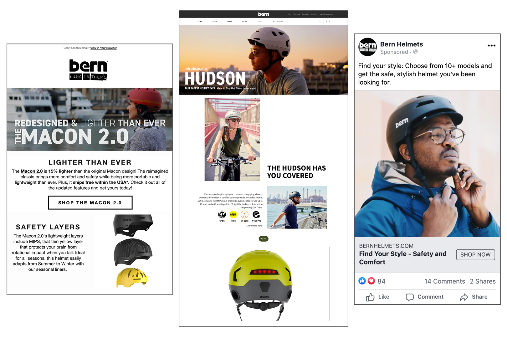 Bern Helmets Case Study Sample Work