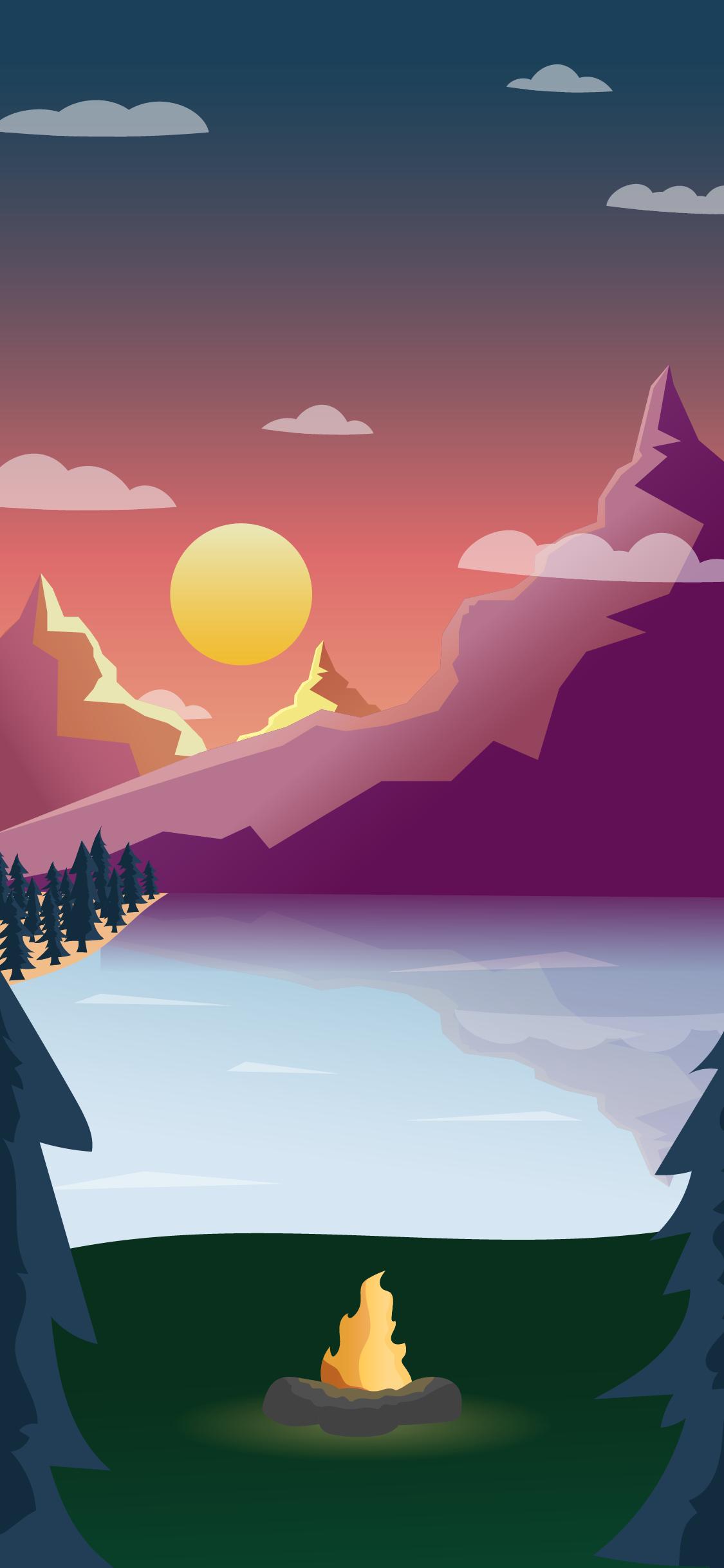 Pocket Campfire visual design
