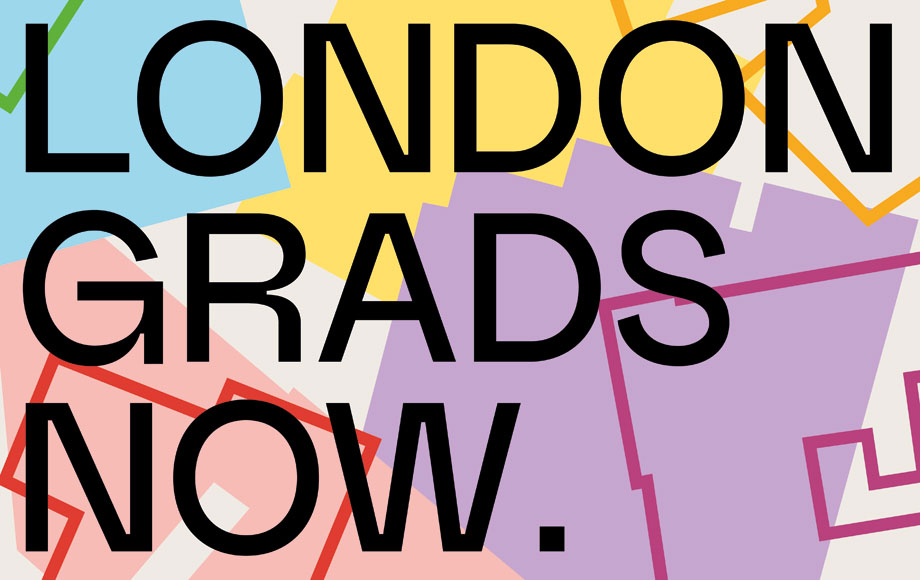 Poster for an exhibition at the Saatchi Gallery, London, for students of UCL, UAL and Goldsmiths that missed out on a degree show because of COVID-19