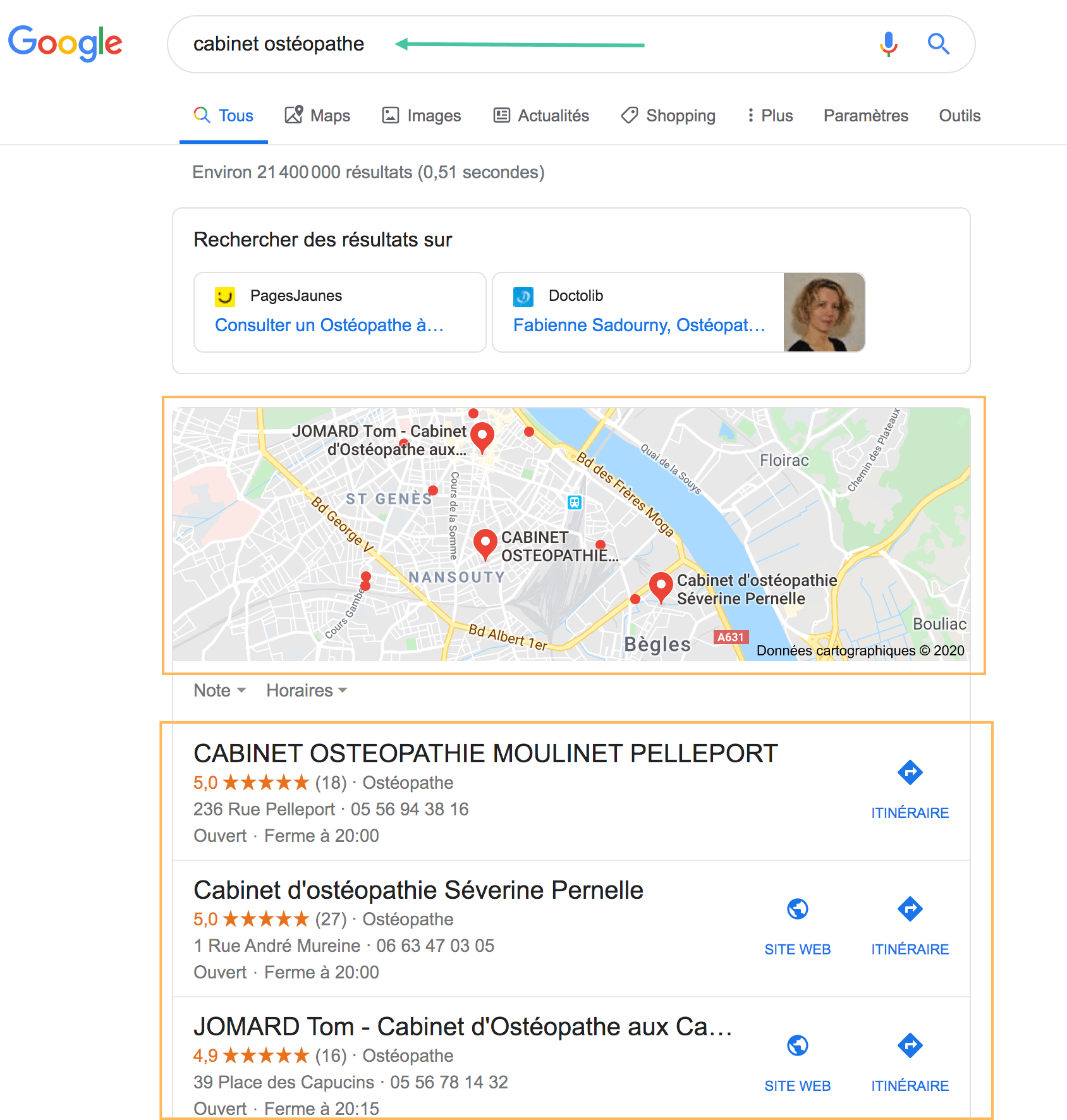 Google Map Pack Local