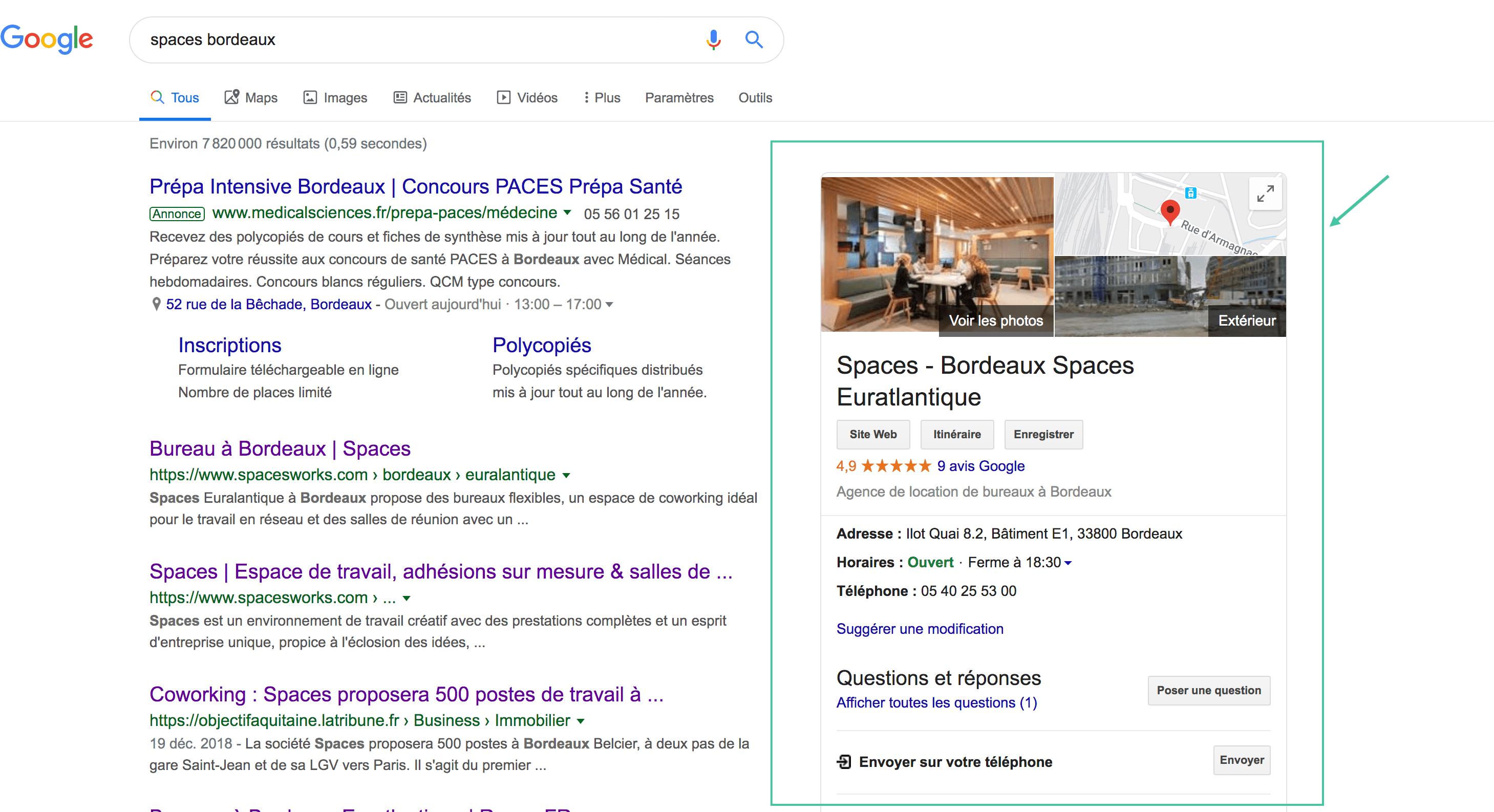 Google My Business Fiche SEO