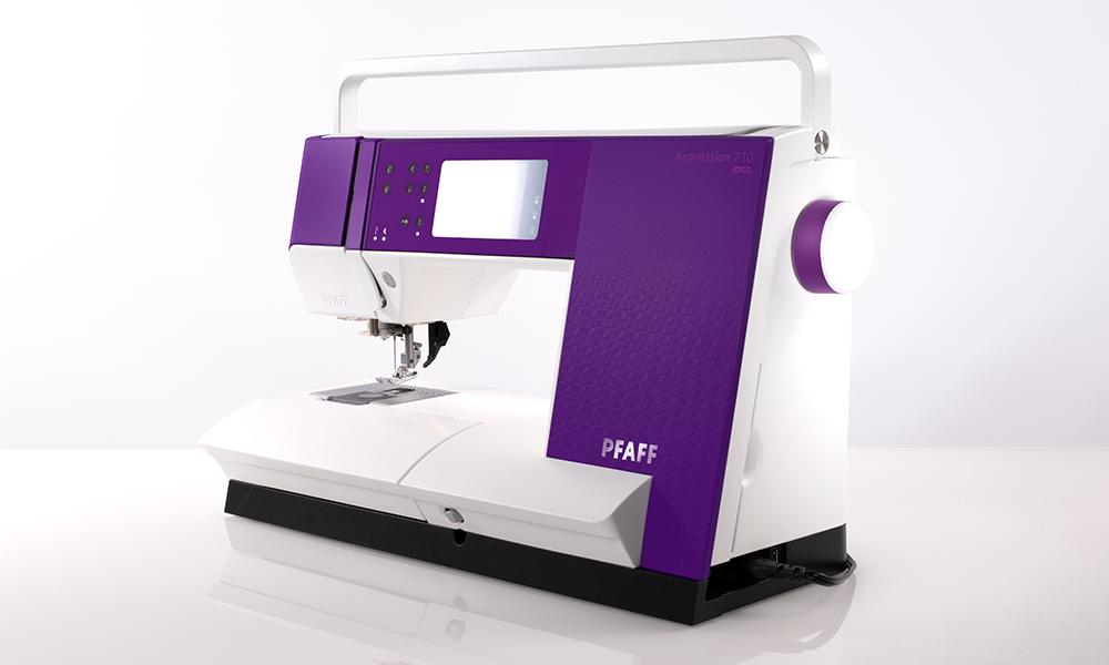 PFAFF Expression 710 Sewing Machine in purple designed by Zenit Design ,