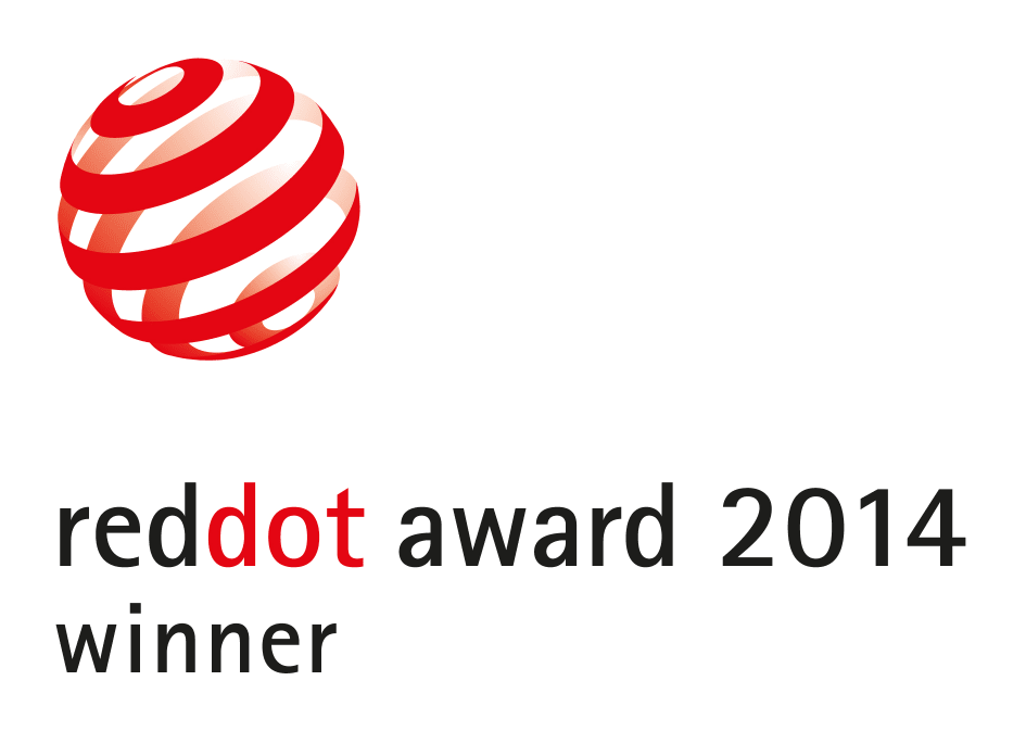 Red Dot Award Winner 2014 Logo