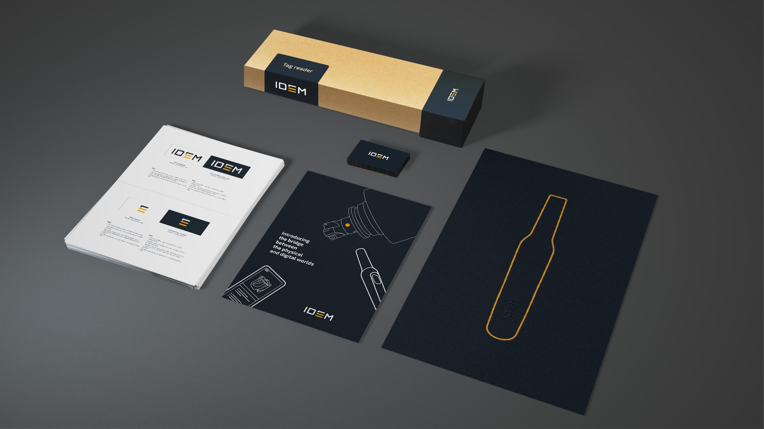 IDEM  Brand works Collage