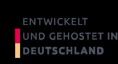 Entwickelt und gehostet in Deutschland