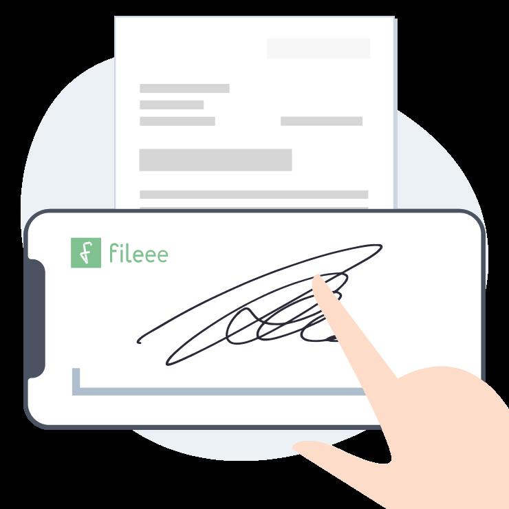 Dokumente unterzeichnen