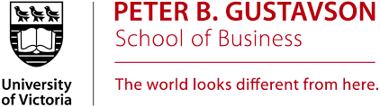 University of Victoria Gustavson School of Business logo
