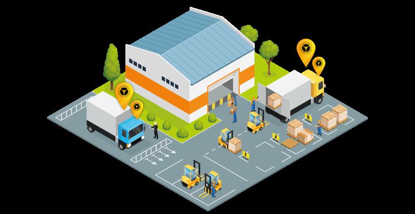 isometrico warehouse