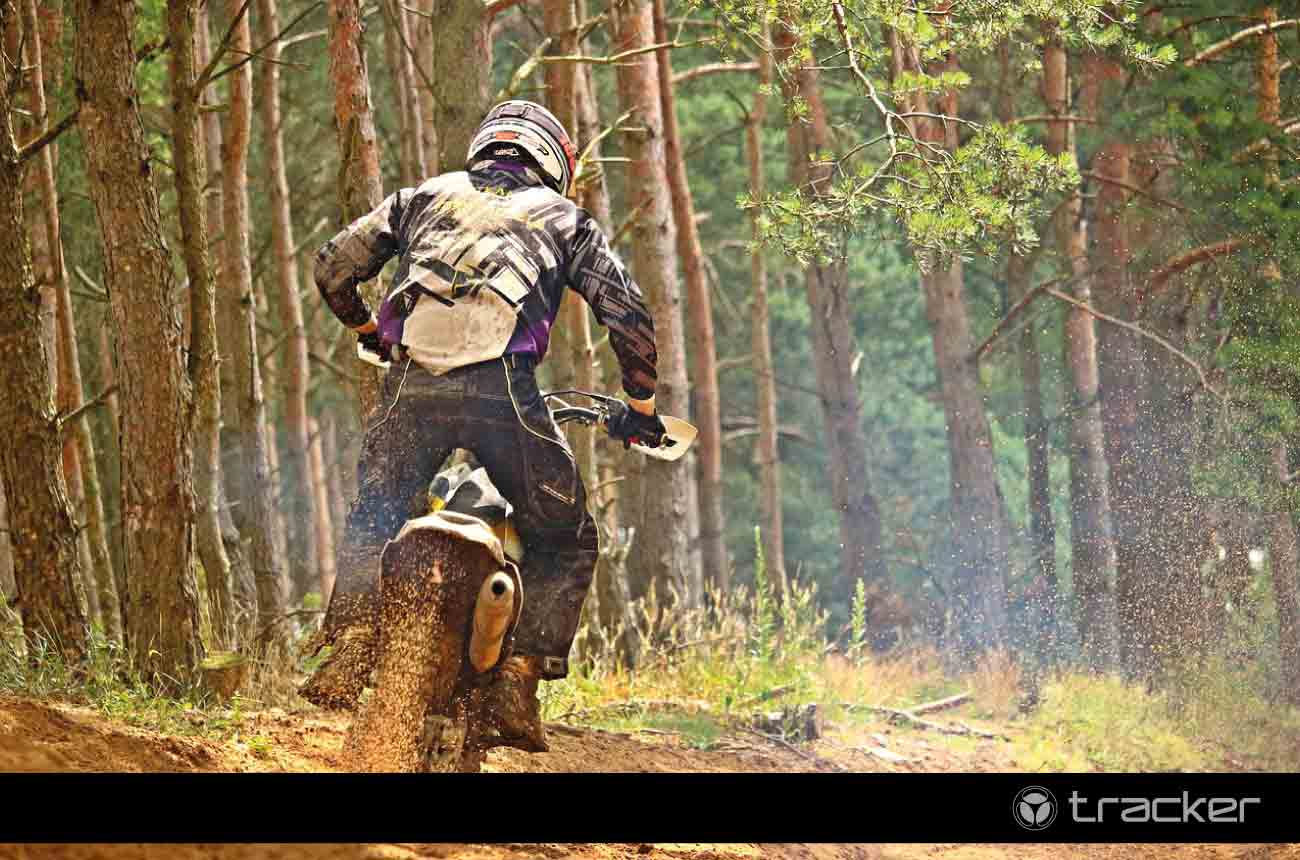 Moto para rally