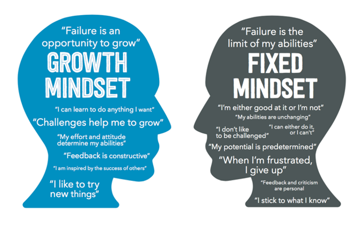 Growth or Fixed Mindset: https://www.screwtheninetofive.com/differences-between-growth-and-fixed-mindset/