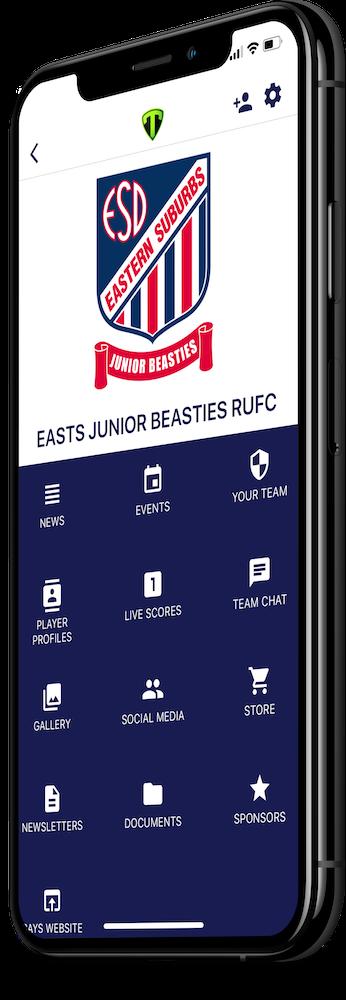 Beasties Application Screenshot